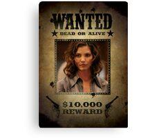 Buffy Cordelia Wanted 2 Canvas Print