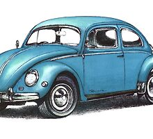 1957 Volkswagen Beetle by mrclassic