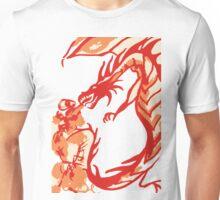 Red Dragon Fire Breath Unisex T-Shirt