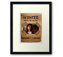 Buffy Cordelia Wanted 3 Framed Print