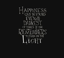 Harry Potter/Albus Dumbledore quote - Happiness Womens Fitted T-Shirt