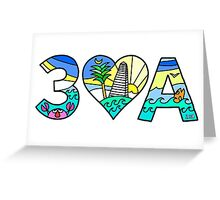 30A  Greeting Card