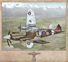 Supermarine Spitfire Mk XII by A. Hermann