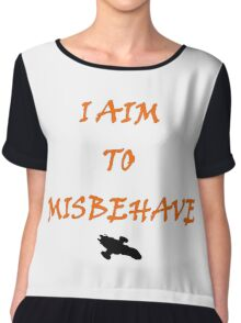 Firefly - I Aim To Misbehave Chiffon Top