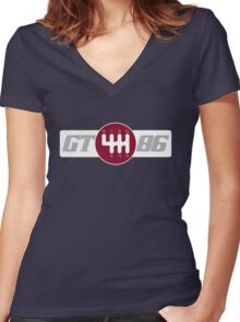 GT86 Loyal Women's Fitted V-Neck T-Shirt