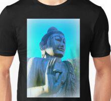 blue buddha meditating Unisex T-Shirt