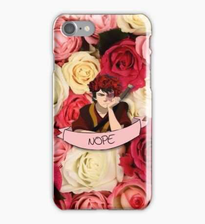 Zuko is like 80% done or something iPhone Case/Skin