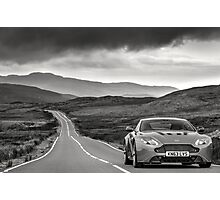 Aston Martin V12 Vantage S in North Wales ... Photographic Print