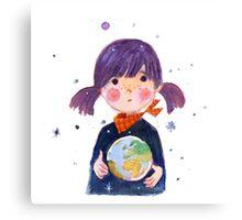 Little Earth Canvas Print