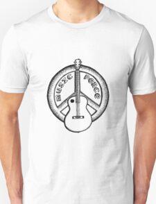 Music Peace Guitar T-Shirt