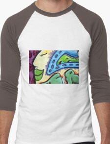 Graffiti Beauty Men's Baseball ¾ T-Shirt