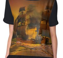 Pirate attack Chiffon Top
