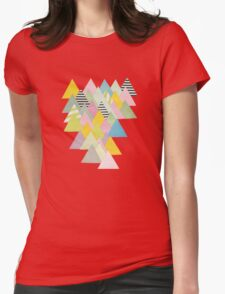 French Alps Womens Fitted T-Shirt