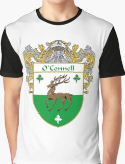 O'Connell Coat of Arms/Family Crest Graphic T-Shirt