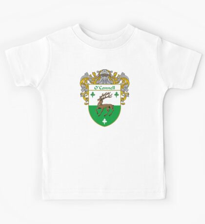 O'Connell Coat of Arms/Family Crest Kids Tee