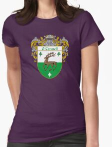 O'Connell Coat of Arms/Family Crest Womens Fitted T-Shirt