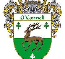 O'Connell Coat of Arms/Family Crest by William Martin