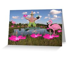 Tropical Dance Greeting Card