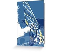 SURF TIME Greeting Card