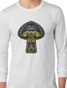 The Great Mushroom in the Sky Long Sleeve T-Shirt