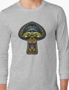 The Great Mushroom in the Sky Long Sleeve T-Shirt