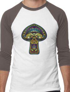 The Great Mushroom in the Sky Men's Baseball ¾ T-Shirt