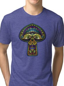 The Great Mushroom in the Sky Tri-blend T-Shirt
