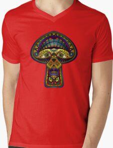The Great Mushroom in the Sky Mens V-Neck T-Shirt