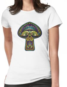 The Great Mushroom in the Sky Womens Fitted T-Shirt