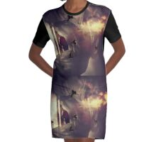 The disappearing act  Graphic T-Shirt Dress