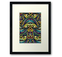 The Great Mushroom in the Sky Framed Print