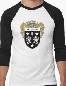 O'Donnell Coat of Arms/Family Crest Men's Baseball ¾ T-Shirt
