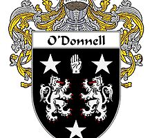 O'Donnell Coat of Arms/Family Crest by William Martin