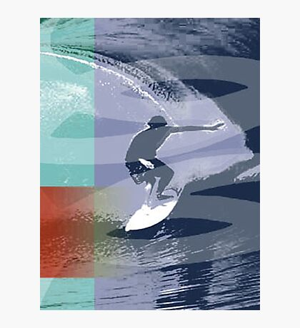 SURF TIME 2 Photographic Print