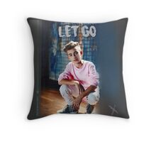 Johnny Orlando - Let Go Throw Pillow