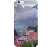 Summer trip to Bad Gastein, Austria iPhone Case/Skin