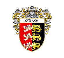 O'Grady Coat of Arms / O'Grady Family Crest Photographic Print