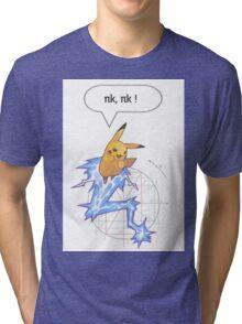 Math Pikachu Tri-blend T-Shirt