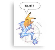 Math Pikachu Canvas Print
