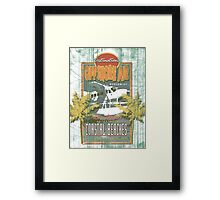 SURF TIME 3 Framed Print