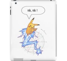 Math Pikachu iPad Case/Skin