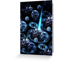 Stand Alone Complex - Abstract Fractal Artwork Greeting Card