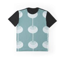 Mid Century Atomic Age Inspired Graphic T-Shirt