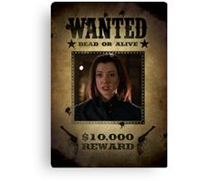 Buffy Dark Willow Wanted 2 Canvas Print