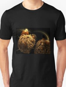 Gravity - Abstract Fractal Artwork Unisex T-Shirt