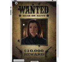 Buffy Dark Willow Wanted 2 iPad Case/Skin