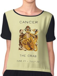 Cancer Chiffon Top