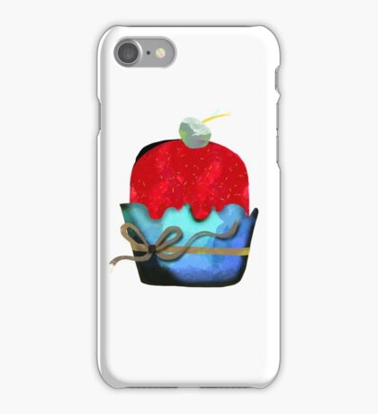 Strawberry Ice cream with pineapple Chips Mint Fudge iPhone Case/Skin