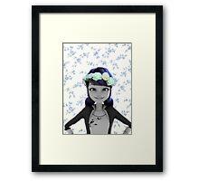 Marinette the flower child Framed Print
