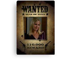 Buffy Darla Wanted 2 Canvas Print
